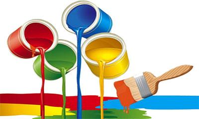 tintas coloridas para pinturas