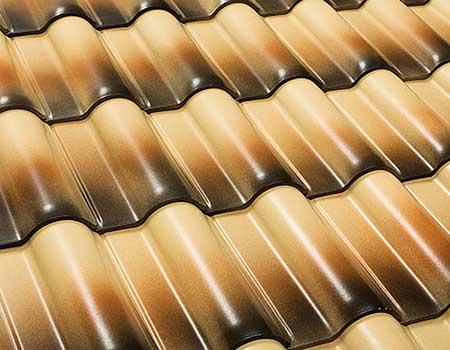 Telhado em telha canudo