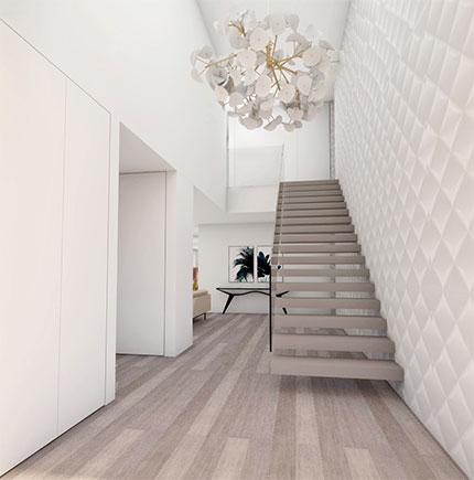 Escadas em 3d